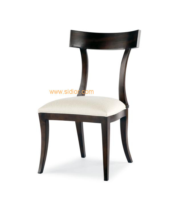 (CL-1100) Luxury Hotel Restaurant Dining Furniture Wooden Dining Chair