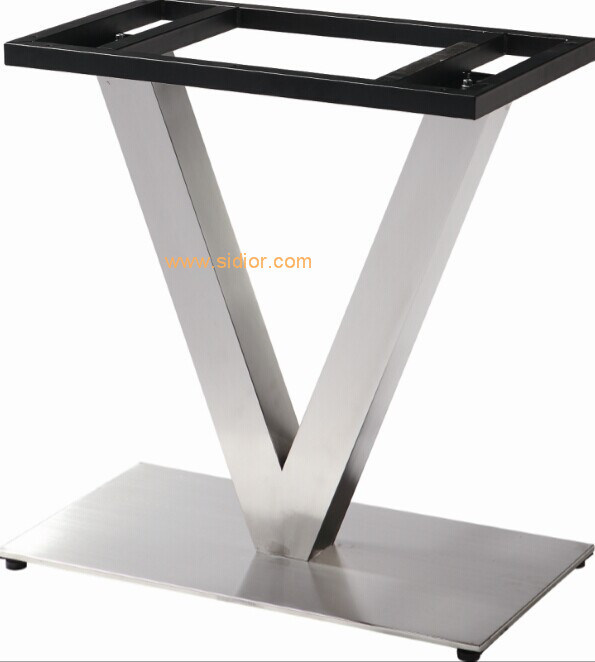 (SC-739) Restaurant Dining Furniture Base Stainless Steel Metal Table Legs