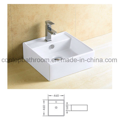 China Quality Sanitaryware Art Ceramic Square Counter