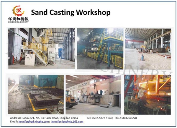 OEM Gray Grey Sg Ductile Cast Iron Adi Aluminum Casting with Sand Casting