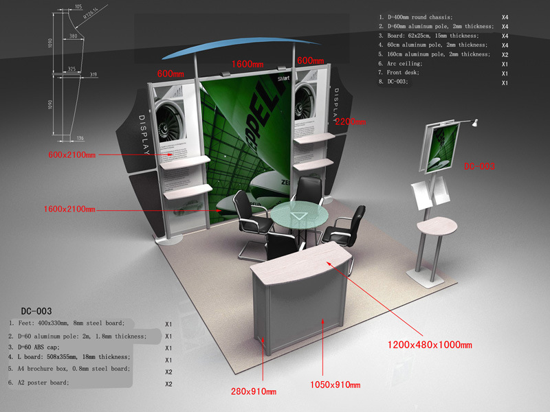 Trade Show Booth Hs Code : New modern trade show booth display stand