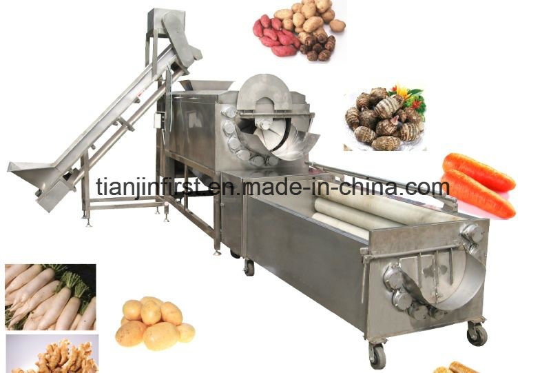 Vegetable Potato Washing Peeling Machine