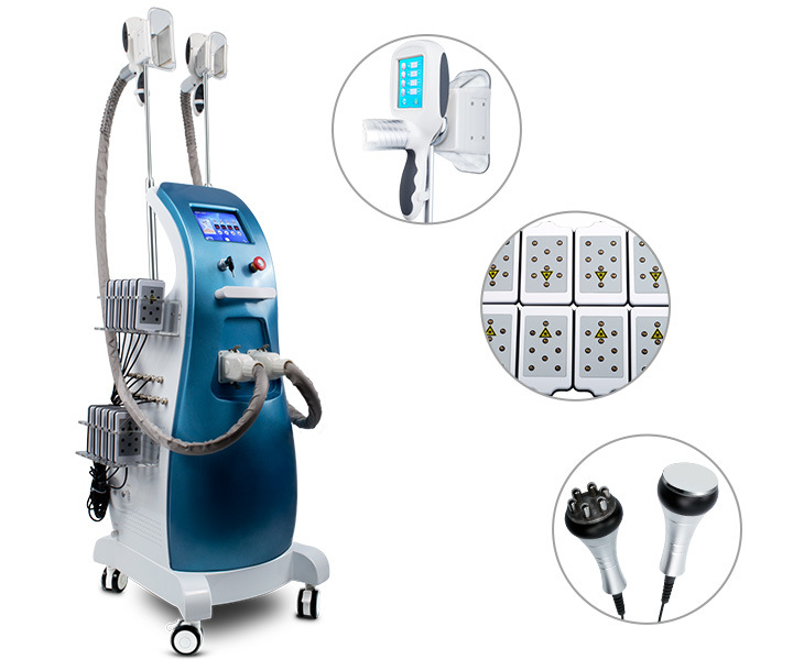 Slimming Machine with Cryo Fat Freezing Ultrasound Cavitation Lipo Laser RF