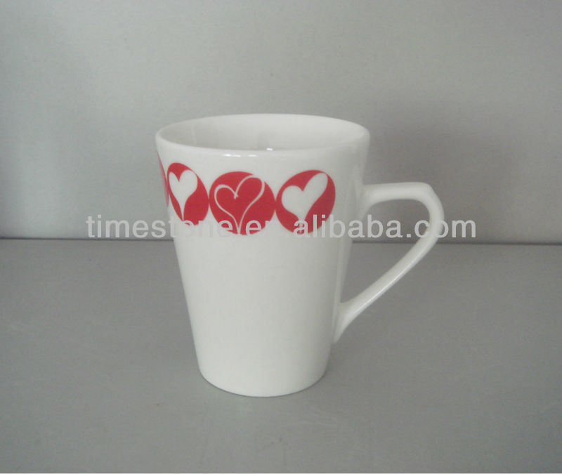 China Porcelain White Mugs Wholesale 082701 China