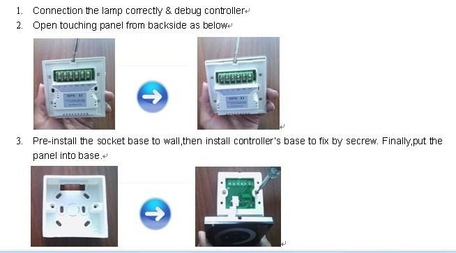 RGB Controller for LED Neon Lights, LED Strips, LED Lights
