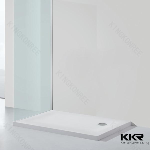 Panneau en pierre acrylique artificiel de douche de salle for Panneau de douche acrylique