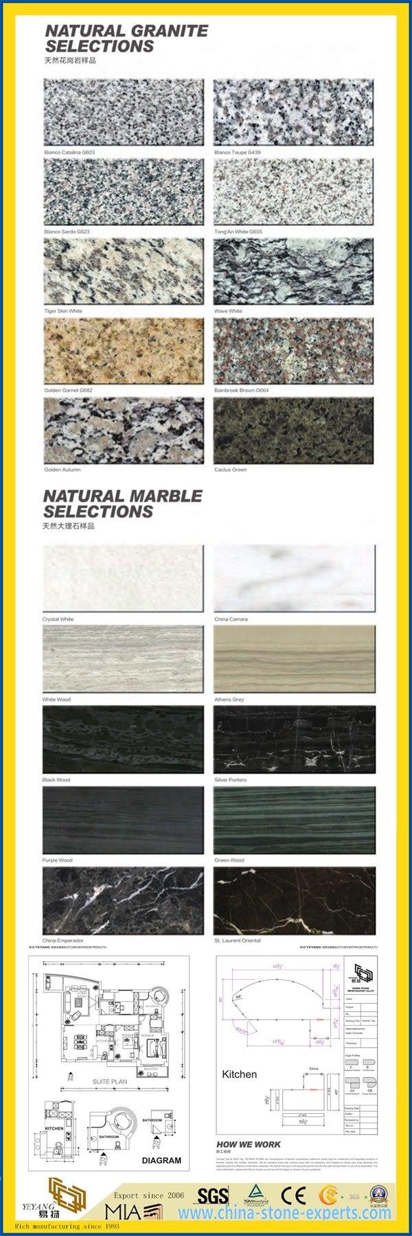 Pre Cut Granite Kitchen Countertops Diy Prefab Discount Stone Granite Marble Countertop For Kitchen
