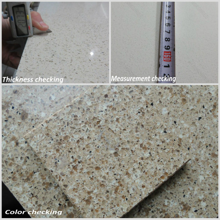 China factory price engineered quartz stone slab for Manufactured quartz countertops cost