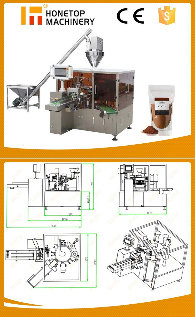 Pouch Packaging Machine for Coconut Powder