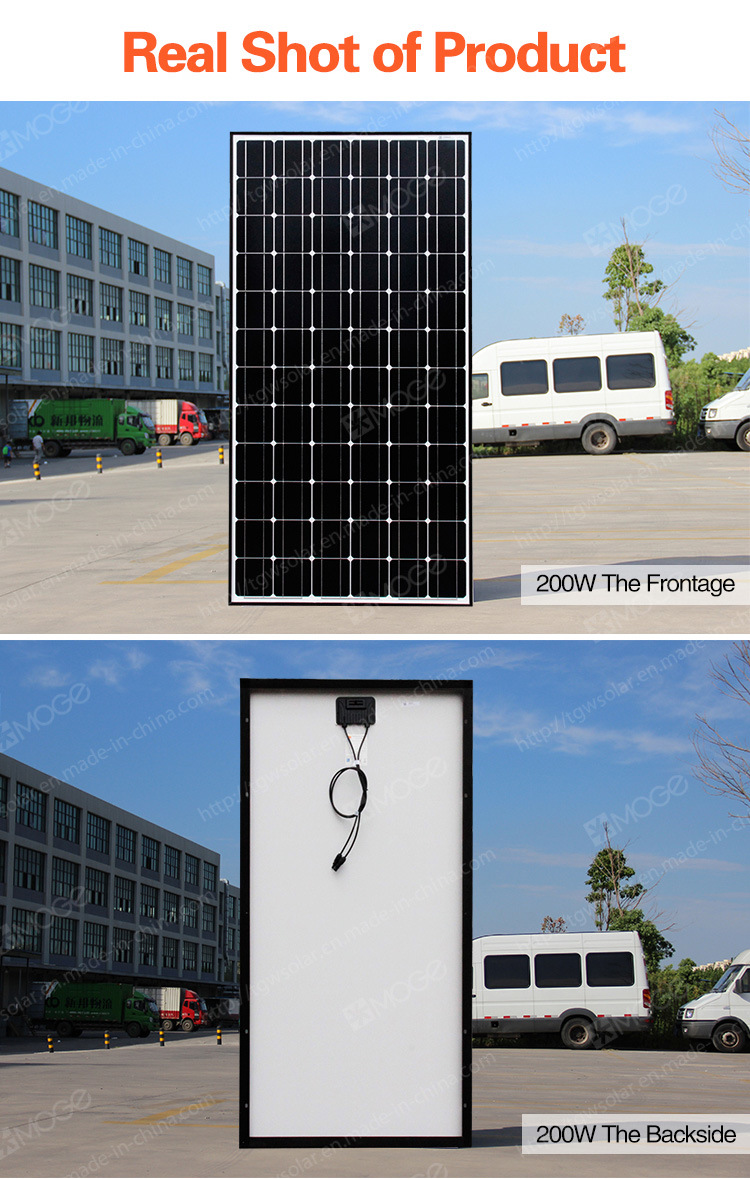 china 200w solar panel best price and enough stock china solar panel solar. Black Bedroom Furniture Sets. Home Design Ideas