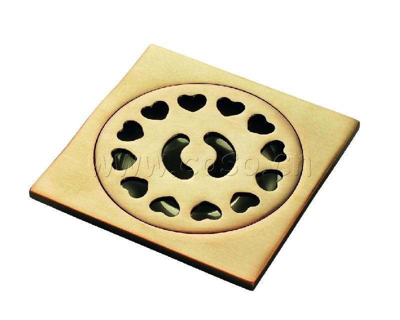 China bathroom accessories floor drainer zj 303 china for Bathroom accessories hs code