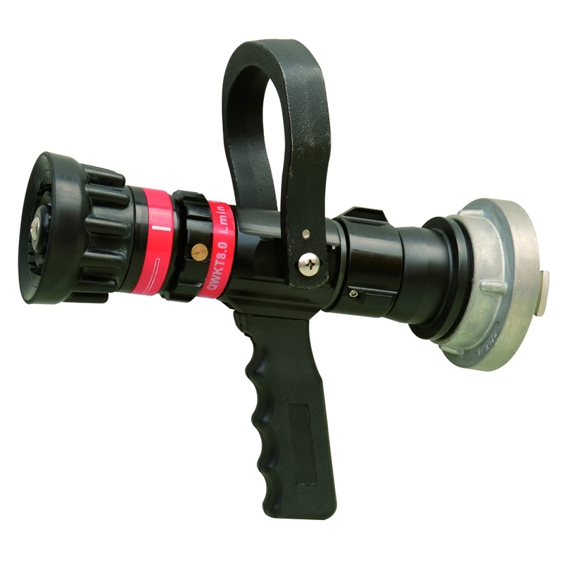 China flow auto adjustable fire fighting nozzle qld a