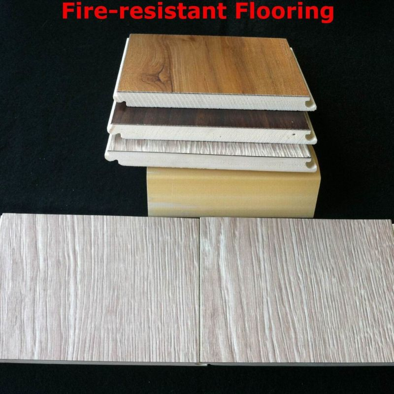 Flame Resistant Flooring : China waterproof fire resistant wpc laminate flooring