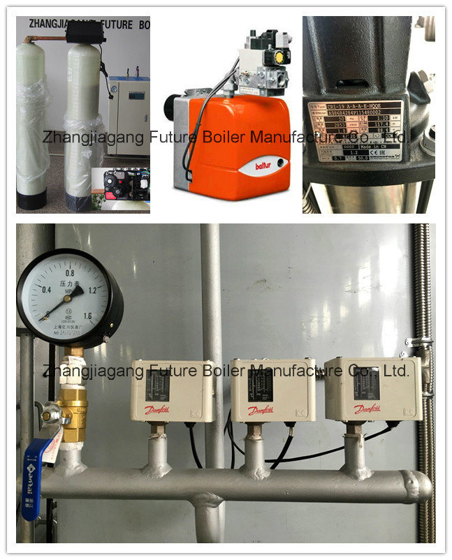 China Vertical Gas / Fuel Oil Steam Boiler (32-260BHP ...