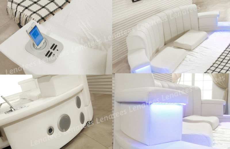Cy006 Hot Selling Bedroom Furniture with LED Lighting Music Player