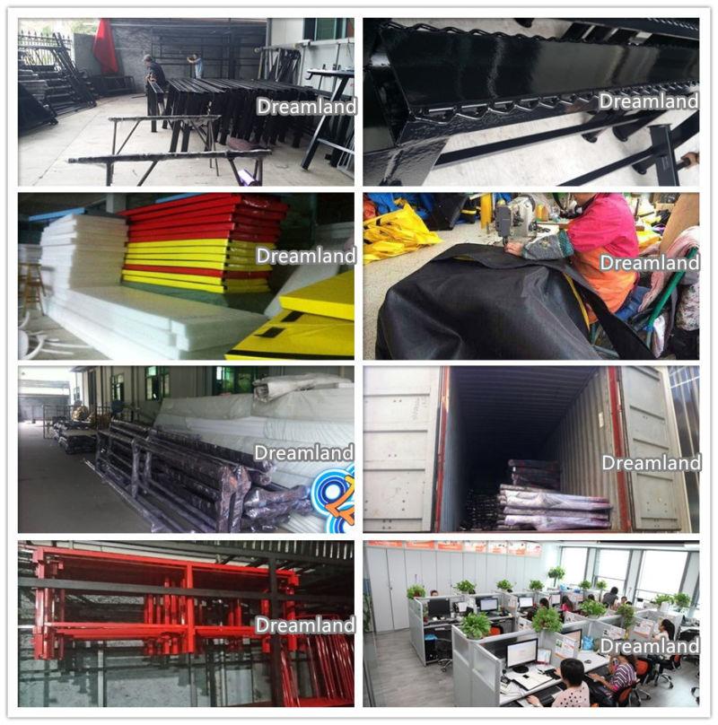 China dreamland indoor trampoline park bounce house for Indoor trampoline park design manufacturing
