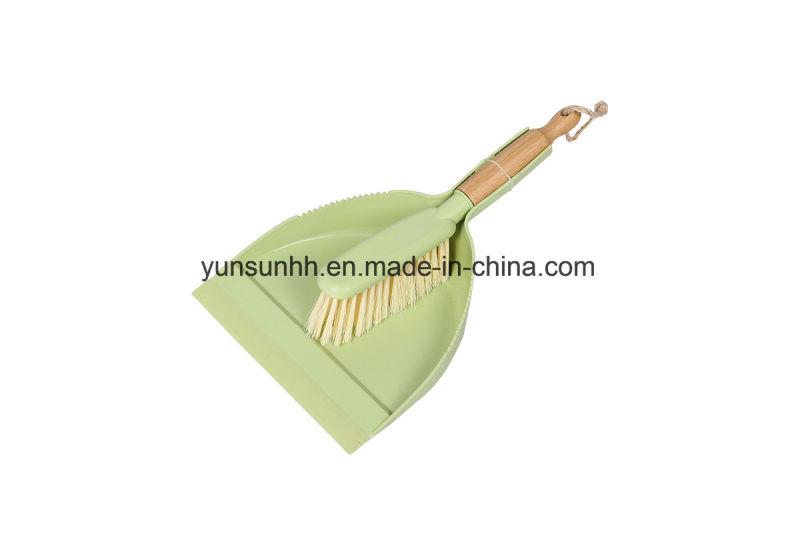 Delightful Table Dustpan U0026 Sweeping Brush With Bamboo Handle