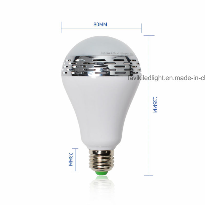 China smartphone controlled wireless bluetooth speaker for Bluetooth controlled light bulb