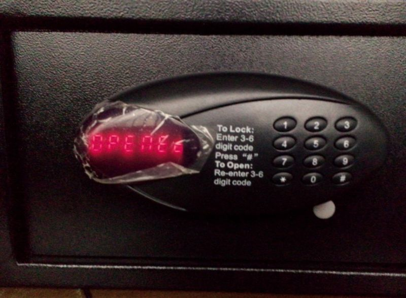 Hotel Safe Suitable for Laptop with Motor-Driven Function (T-HS43LCDX-D)