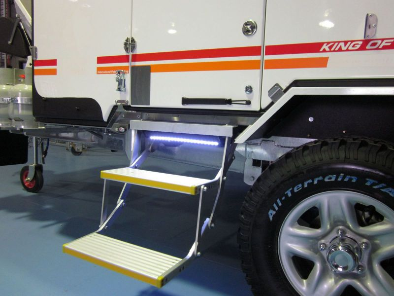 Motorhome electric folding step es f motorhome electric for Motorized rv entry steps