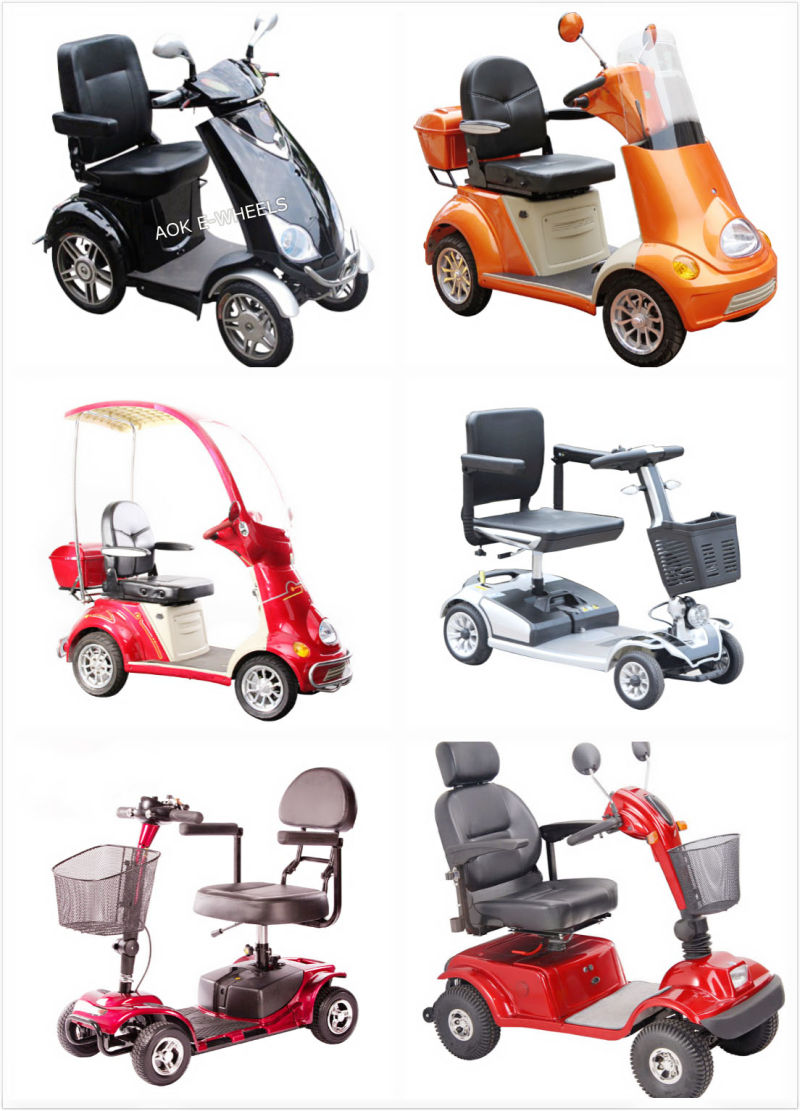 China 500w motor four wheel disabled electric mobility for Mobility scooter motors electric