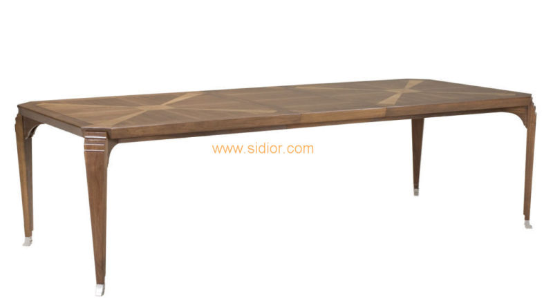 (CL-5526) Antique Hotel Restaurant Villa Lobby Furniture Wooden Coffee Table