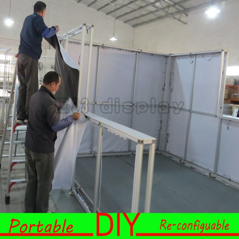 Exhibition Booth Contractor Usa : China diy display syetems exhibition booth stand