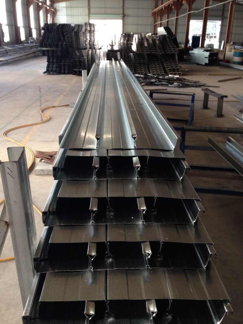 Fireproof Long Span Galvanized Steel Decking Sheet for Steel Buildings