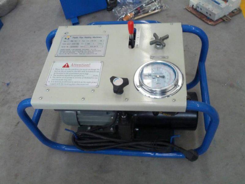 China hdpe pipe butt welding machine