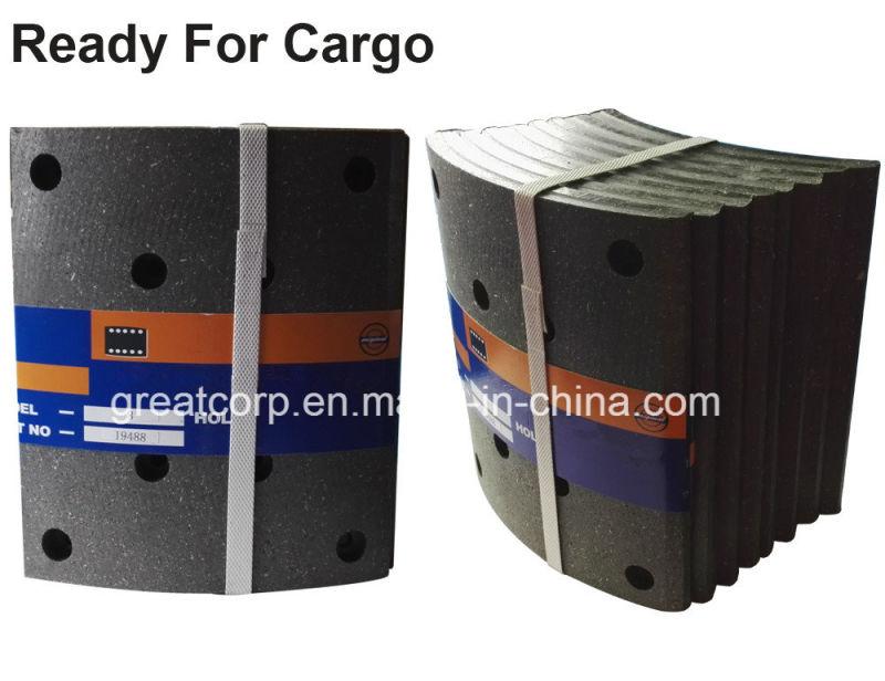 Semi Truck Brake Lining : China heavy truck brake linings