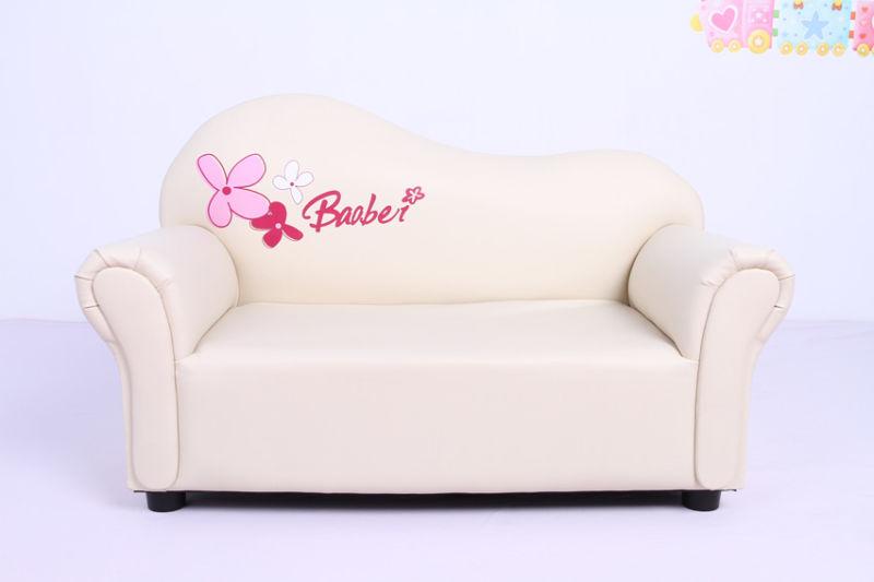 Sweet home children upholstered leather sofa sxbb 07 03 for Home sweet home sofa