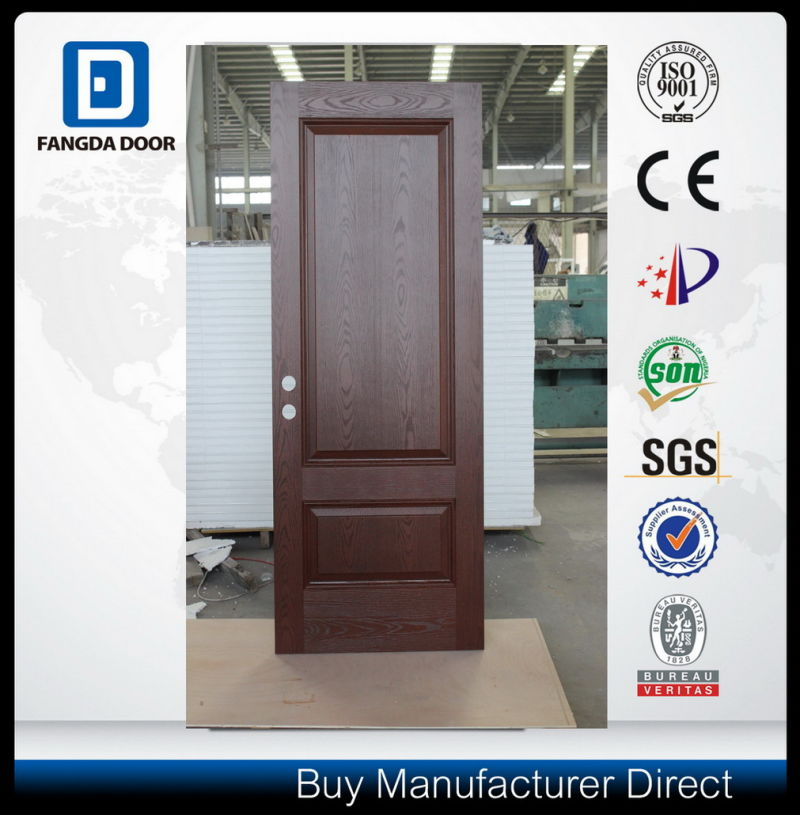 China high end classic hand craft fiberglass modern front for High end exterior doors