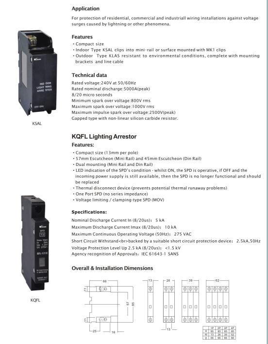 Sal Cbi Lighting Arrestor Circuit Breaker  sc 1 st  Yueqing Kasan Electric Co. Ltd. & China Sal Cbi Lighting Arrestor Circuit Breaker - China Circuit ... azcodes.com