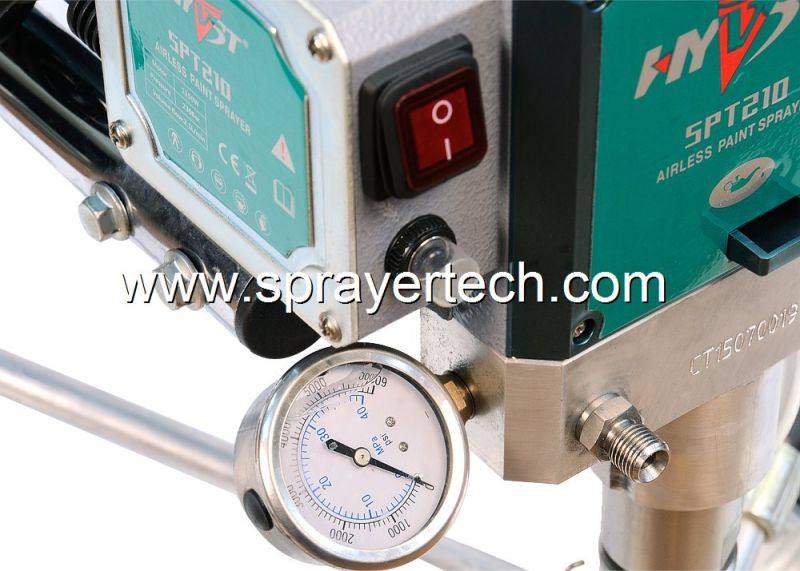 Airless Spraygun Manufacturers Mail: China Hyvst Manufacturer Professional Airless Paint