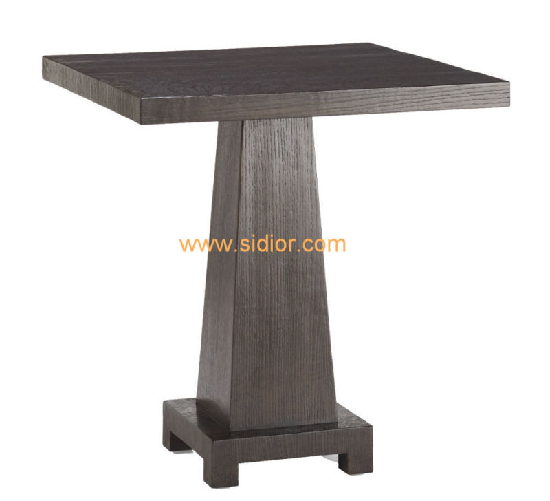 (CL-5521) Luxury Hotel Restaurant Public Furniture Wooden Coffee Table