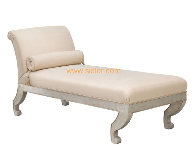 (CL-6628L) Classic Villa Hotel Room Furniture Fabric Leisure Sleeping Lounge