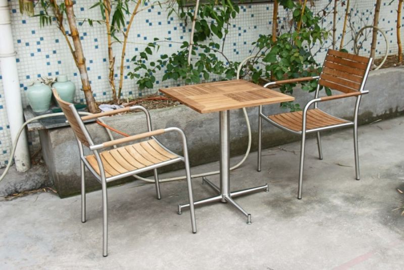 Restaurant, Hotel 및 정원 (S272)를 위한 옥외 Teak Wood Chair – Restaurant ...