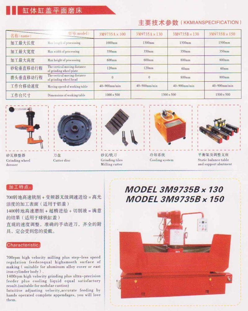 milling machine surface grinder