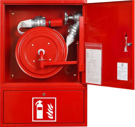 China Fire Hose Reel CabinetsSteel Fire Extinguisher Cabinet - Outdoor fire extinguisher cabinets