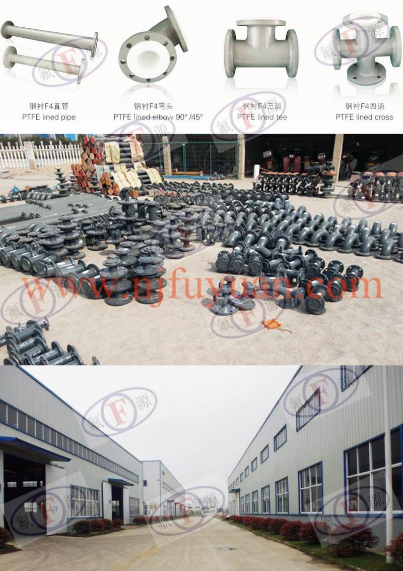China teflon lined reducer