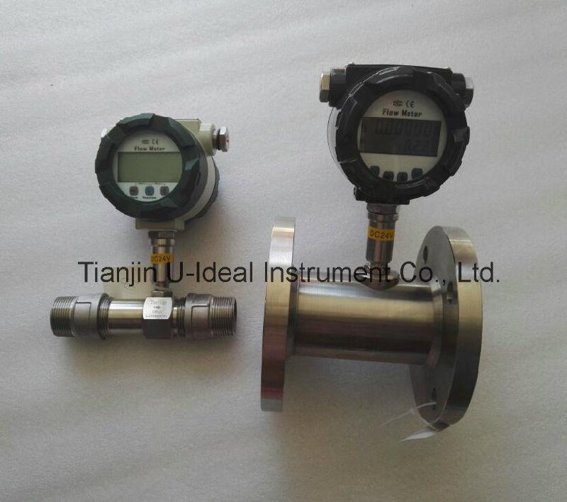 Fuel, Oil, Air Water Turbine Digit Flowmeter
