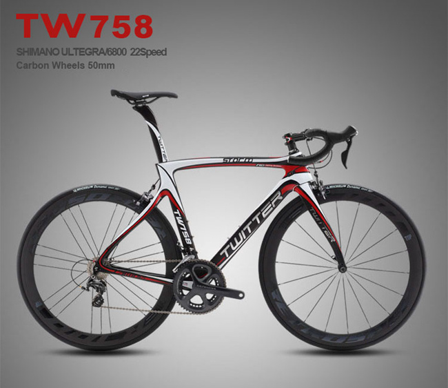 Ultegra 22speed T1000 Carbon Racing Road Bicycle with Carbon Wheel