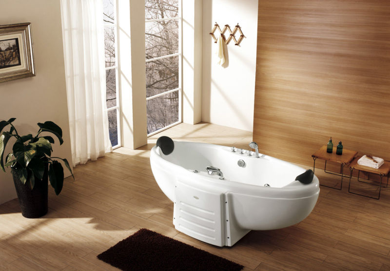 Indoor hot tub 2 person  China Indoor 2 Person Acrylic Massage Bathtub Hot Tubs - China 2 ...
