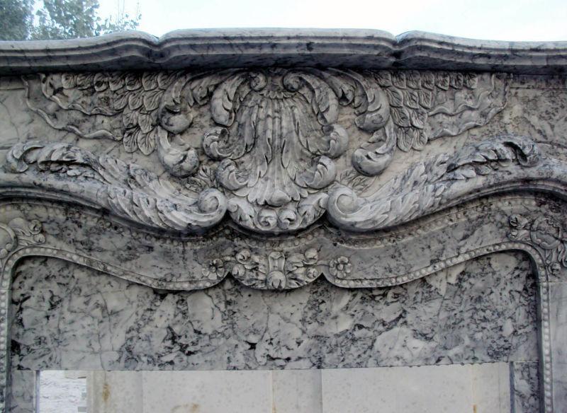 회색 대리석 벽난로 – 회색 대리석 벽난로에 의해 제공Tianjin ...