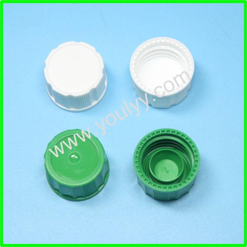 China clear plastic caps