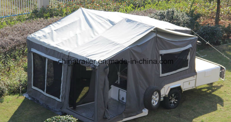 China Forward Folding Camper Trailer China Camper