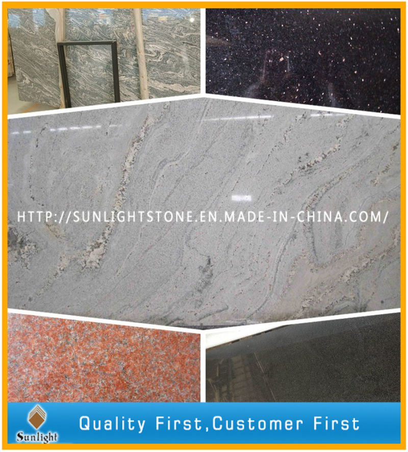 China Juparana Sand Wave Granite Gang Saw Cheap Paving