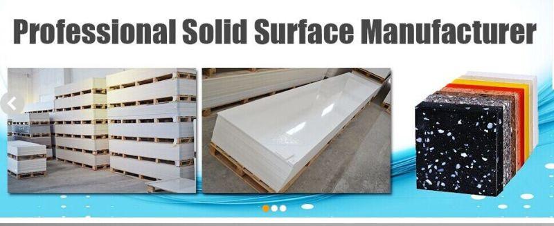 De acryl stevige surface glacier witte stevige plakken van de steen van de oppervlakte sheet - Furniture wereld counter ...
