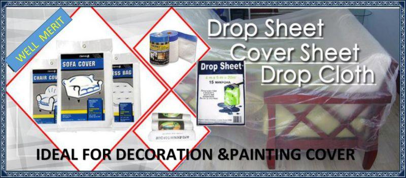 plastic paint drop clothpaint cushion