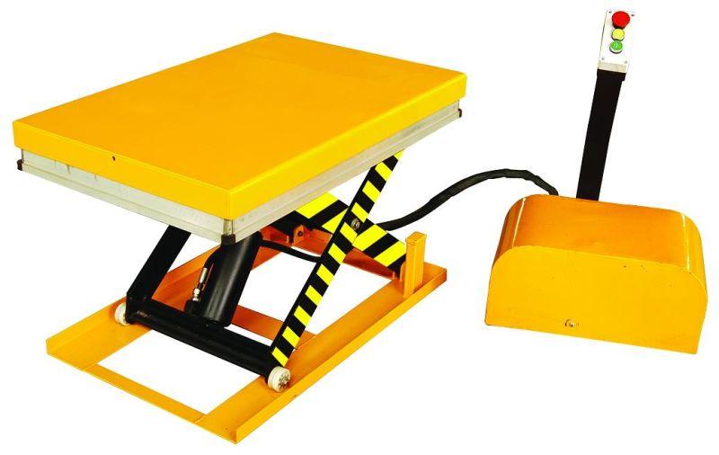 Mini Hydraulic Scissor Lift : De tamaño mini eléctrico la elevación hidráulica tabla